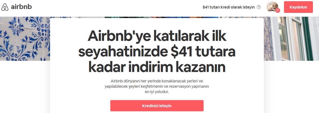 Airbnb indirim kuponlar 2019