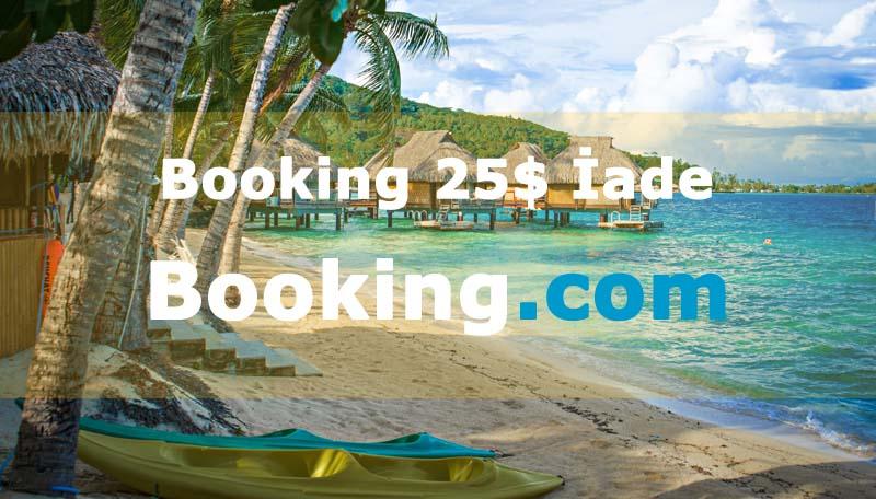 Booking 25 Dolar İade