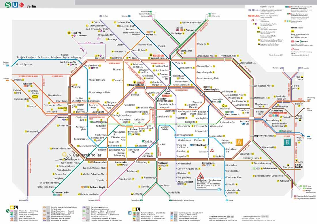 Berlin Metro Haritası