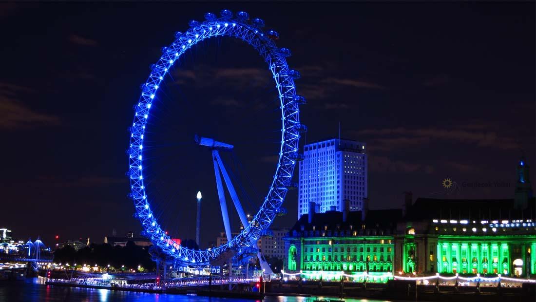 Londra Gezilecek Yerler : London Eye