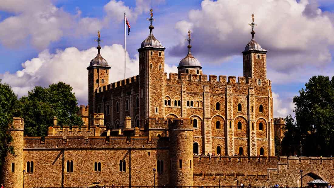 Londra Gezilecek Yerler : Londra Kalesi