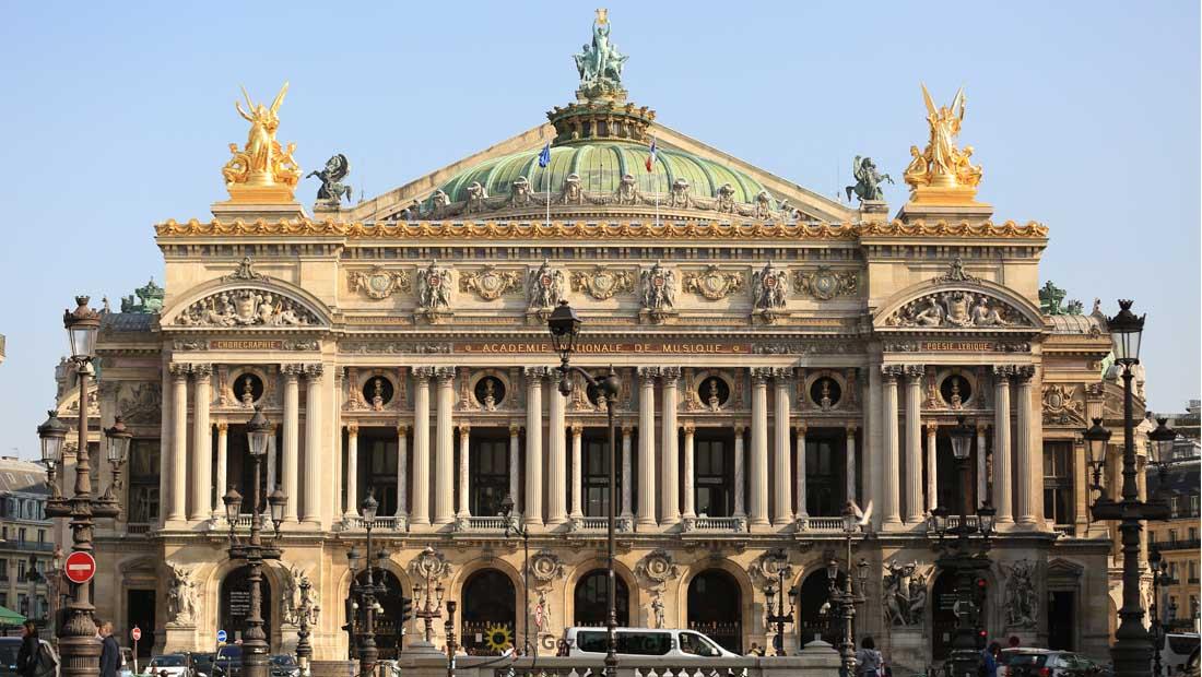 Paris Gezilecek Yerler : Opera Binası