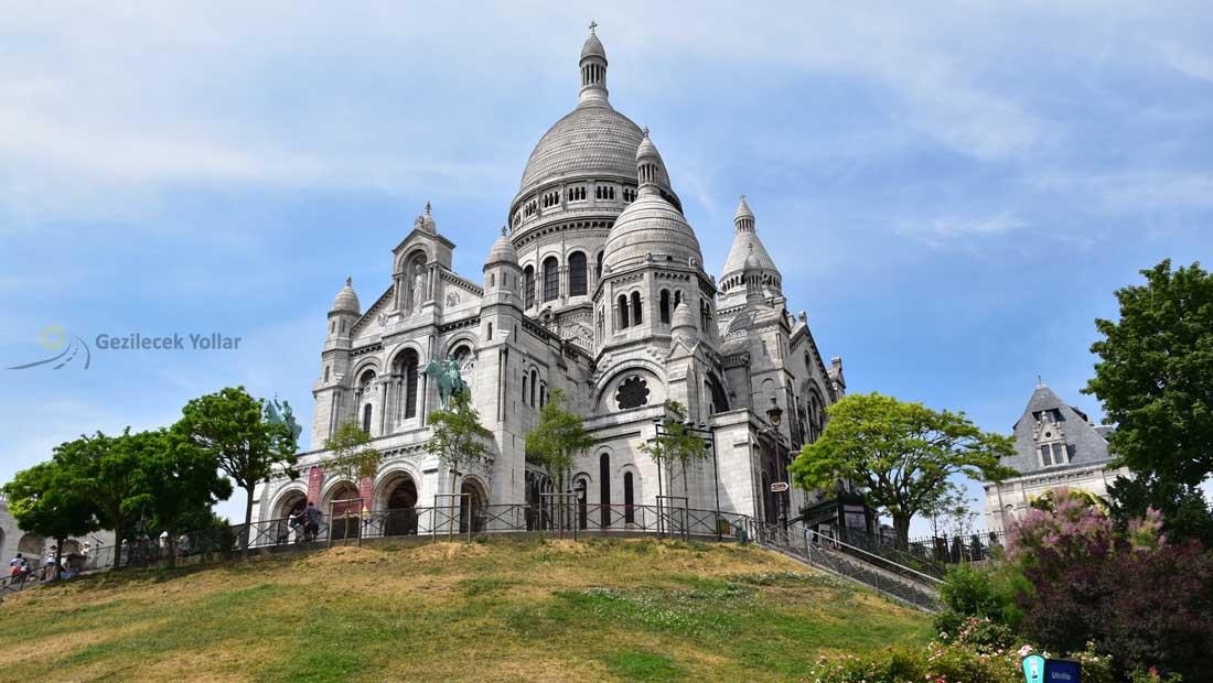 Paris Gezilecek Yerler : Sacre Coeur Bazilikası