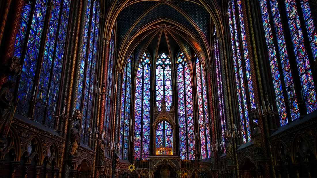 Paris Gezilecek Yerler : Sainte Şapeli