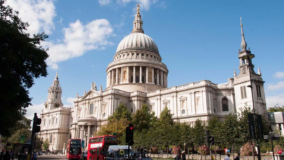 Londra Gezilecek Yerler : St Paul Katedrali