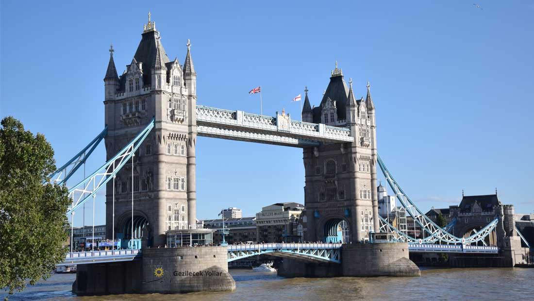 Londra Gezilecek Yerler : Tower Bridge