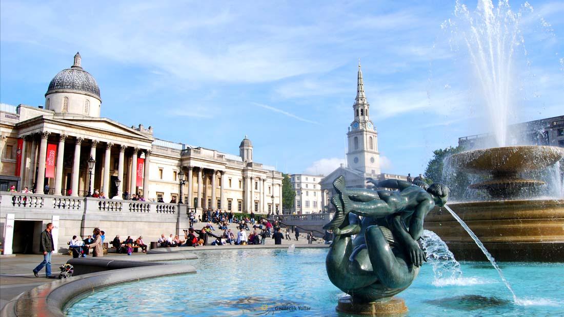 Londra Gezilecek Yerler : Ulusal Galeri
