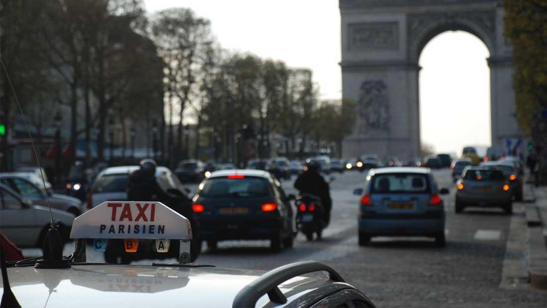 Paris taksi