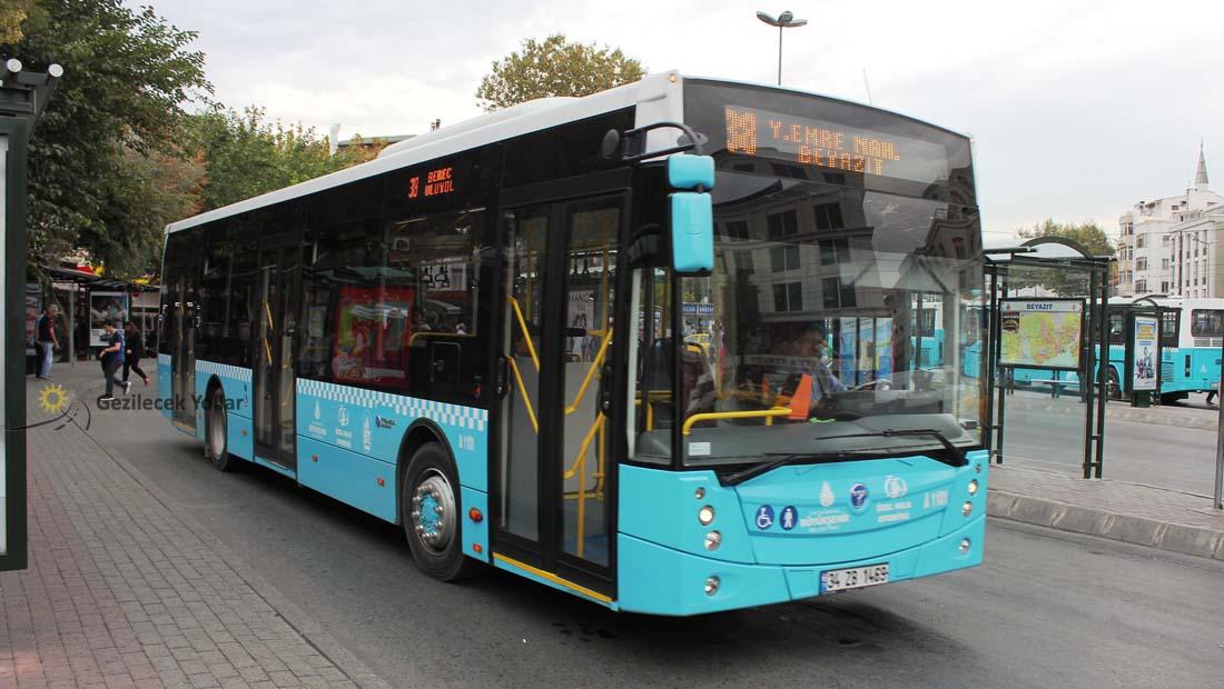 istanbul iett otobüs