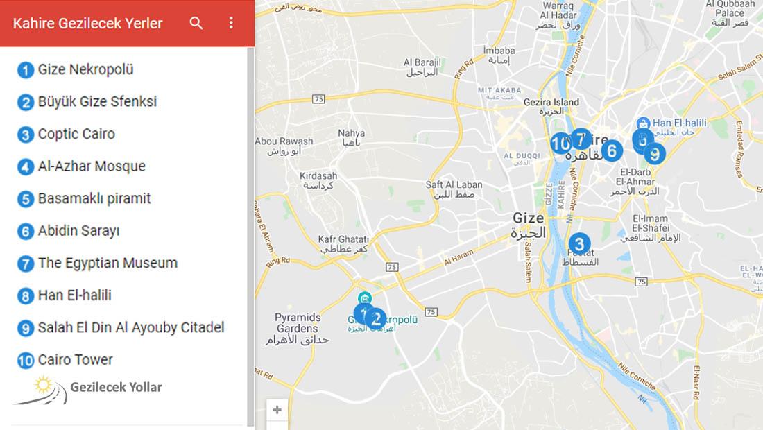 Kahire Google Haritası