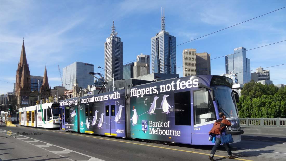Melbourne'de Ulaşım