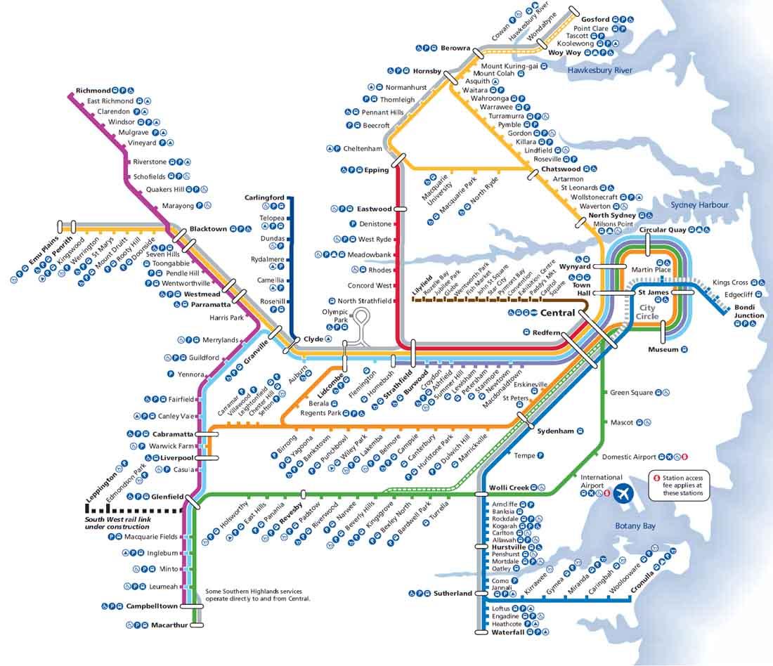 Sydney Metro Haritası