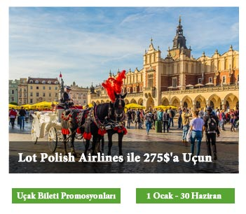 Lot Polish Airlines ile 275$'a Uçun